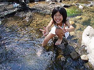 娘と2人で真夏のキャンプツーリング